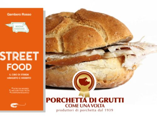 """La Porchetta di Grutti """"Come una volta"""" è nella guida Street Food 2019 del Gambero Rosso"""